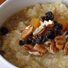 Apricot Quinoa Cereal Photo