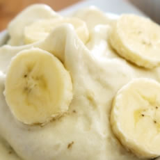 Banana Ice Cream Photo