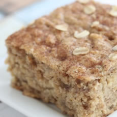 Banana Oat Cake Photo