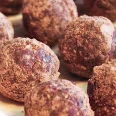 Cocoa Oat Truffles Photo