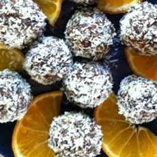 Cranberry Pecan Energy Balls Photo