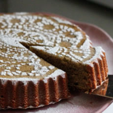 Deluxe Buckwheat Almond Cake Photo
