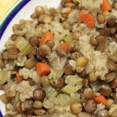 Lentil and Brown Rice Casserole Photo