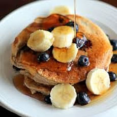 Oatmeal Cottage Cheese Banana Pancakes Photo