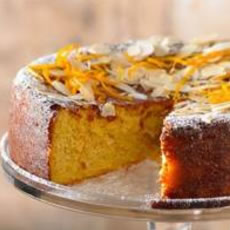 Orange and Almond Cake Photo