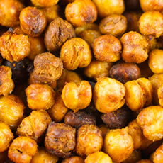 Roasted Garbanzo Beans Photo