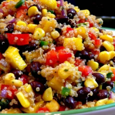Southwestern Black Bean, Quinoa, and Mango Medley Photo